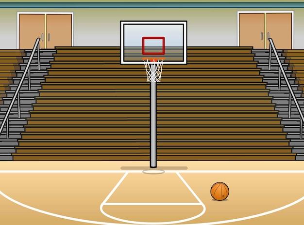 Basketball platz