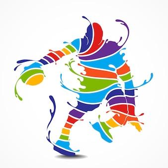 Basketball-spieler-silhouette