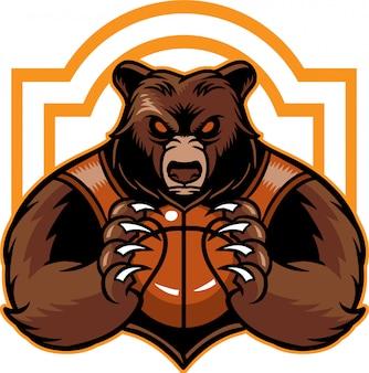 Basketball tragen