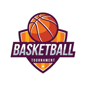 Basketball-turnier, amerikanischer logo-sport