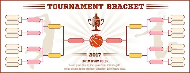 Basketball turnierhalterung