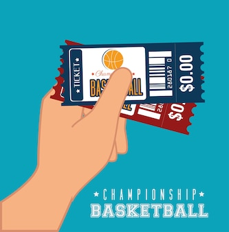 Basketballdesign, vektorillustration.