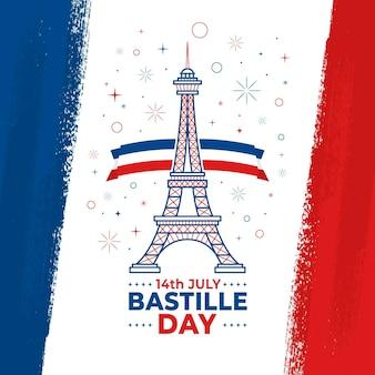 Bastille tagesentwurf