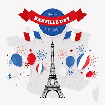 Bastille tageskonzept