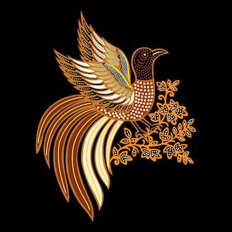 Batik vogel