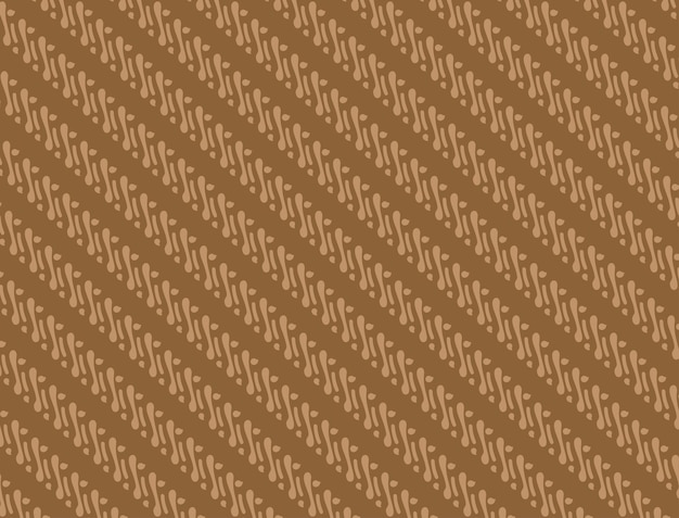 Batikmuster mit brauner farbkombination