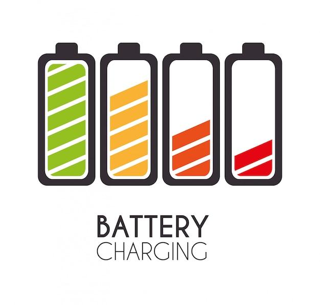 Batterieentwurf.
