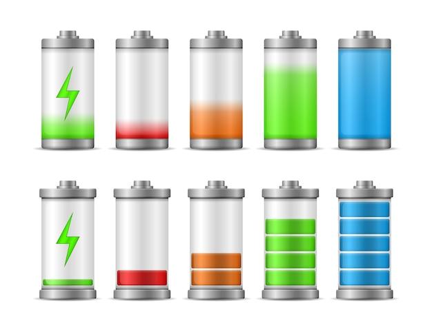 Batterieladung mit voller leistung