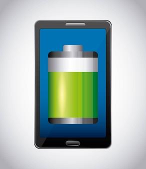 Batteriestand zeichen klassisch isoliert symbol
