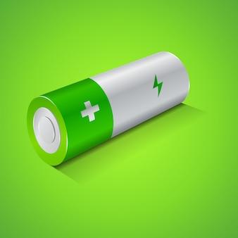 Batteriesymbol, grafikkonzept