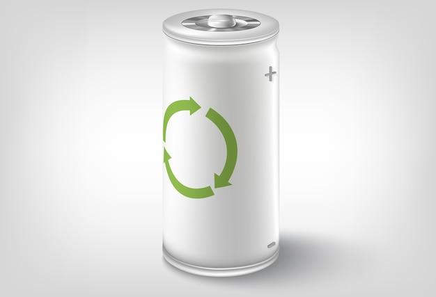 Batteriesymbol. konzeptionelles design