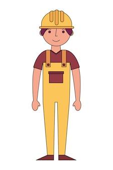 Bau builder avatar charakter
