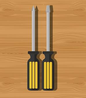 Bau reparaturwerkzeuge grafik