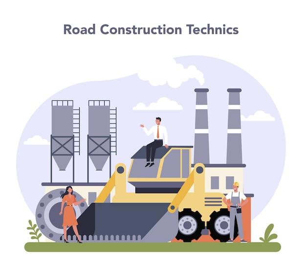 Bau- und maschinenbauindustrie.
