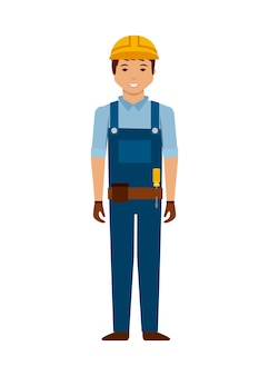 Bauarbeiter-cartoon-symbol