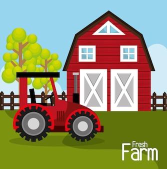 Bauernhof frisches design