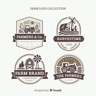 Bauernhof logo collectio