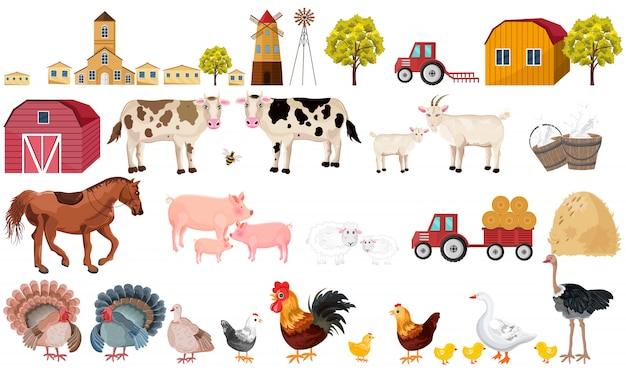 Bauernhof-sammlung