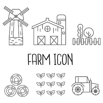 Bauernhof-symbol