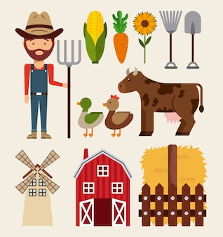 Bauernhofkonzept