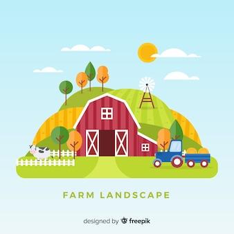 Bauernhoflandschaft