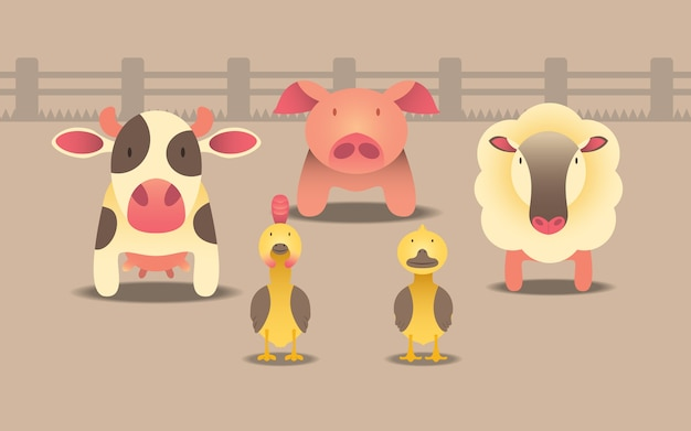 Bauernhoftier