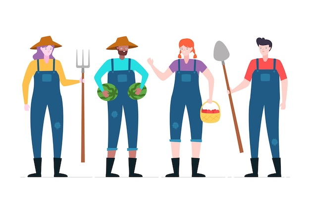Bauernkollektionskonzept
