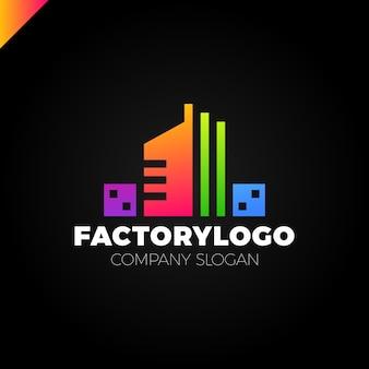 Baufirma, fabrik oder manufaktur-logo