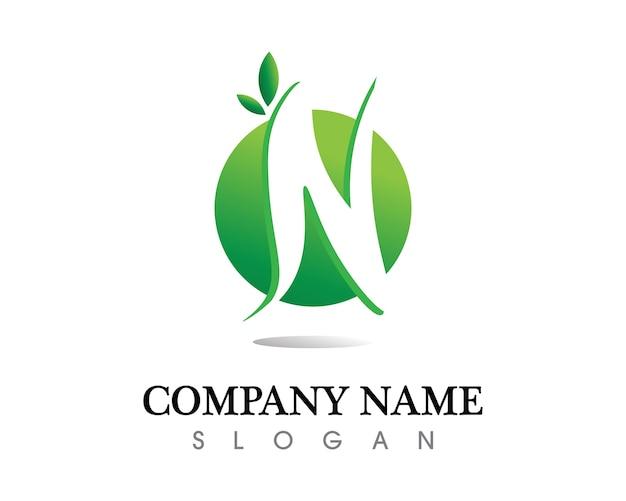 Baum blatt logo design