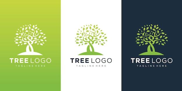 Baum logo vorlage