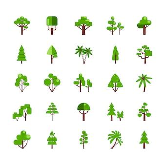 Baum-set-sammlung