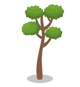Baum wald natur symbol