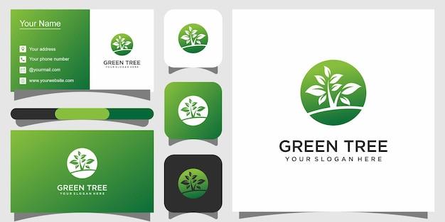Baumform-logo-vorlage