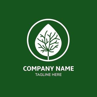 Baumleben-logo-vorlage