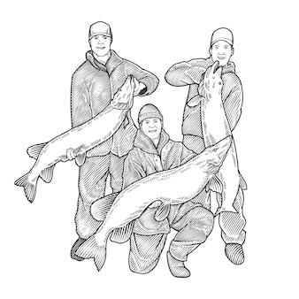 Baummann zeigt fische