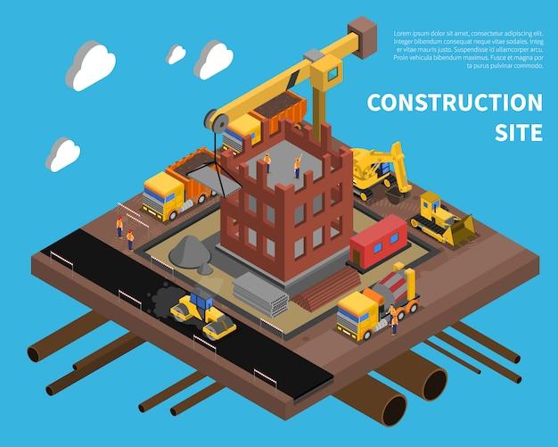 Baustelle illustration