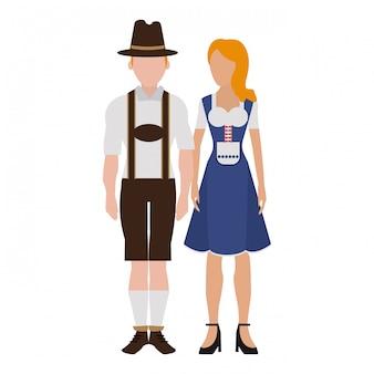 Bayerische paar avatar