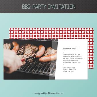 Bbq einladung vorlage