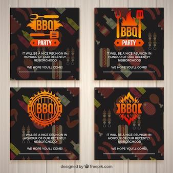 Bbq einladungen