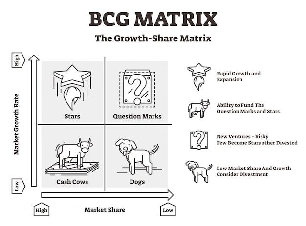 Bcg-matrixdiagramm