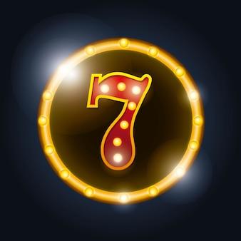 Beachten Sie das spektakuläre Casino-Symbol