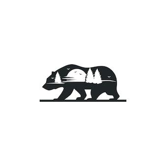 Bear konzepte logo
