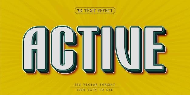 Bearbeitbare texteffekt-design stilvolle schriftart