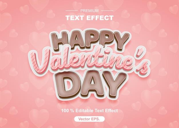 Bearbeitbare texteffekte von choco und sweet