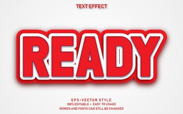 Bearbeitbarer text-effekt-fertiger aufkleber