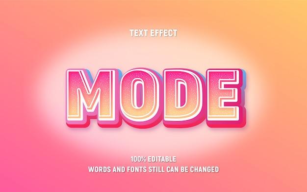Bearbeitbarer text gelb mit rotem about-modus mit farbverlauf und funkeleffekt.