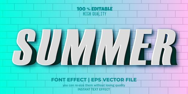 Bearbeitbarer texteffekt ausgeschnittenes papier
