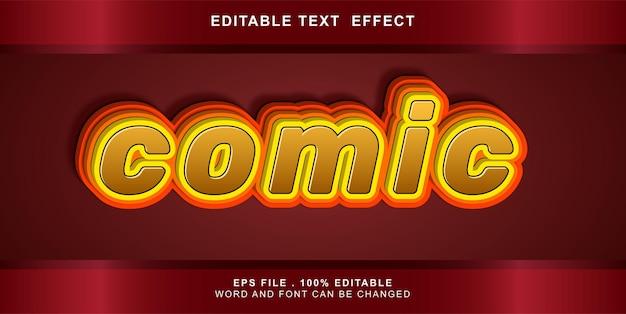 Bearbeitbarer texteffekt-comic