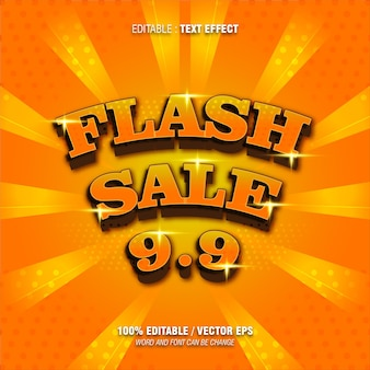 Bearbeitbarer texteffekt flash sale farbverlauf orange