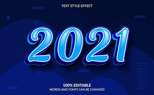 Bearbeitbarer texteffekt, frohes neues jahr-textstil
